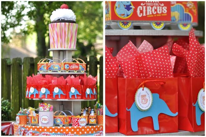 animation anniversaire theme cirque