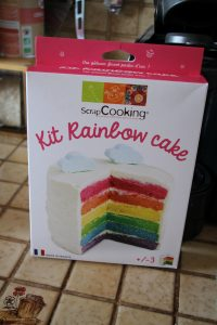 Rainbow cake kit Zodio