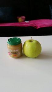 petit pot de pomme bledina