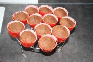 cupcakes sortie du four