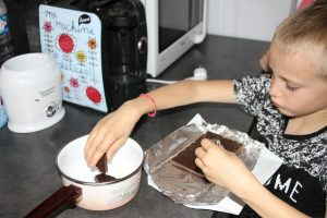 chocolat tarte banane chocolat