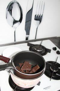 chocolat ganache gravity cake