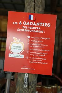garanties verger pommes