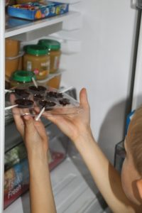 sucette chocolat mini delice lansay