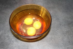 œufs crepes