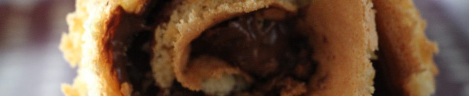 biscuit roule chocolat