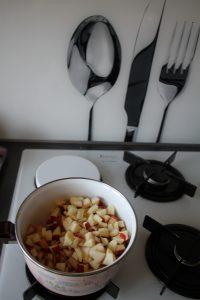 granola à la pomme