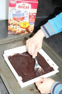 brookie ancel gâteau tout pêt
