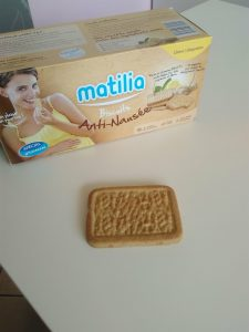 biscuit matilia grossesse nausee