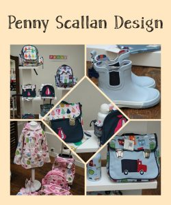 penny scallan design shopping presse party