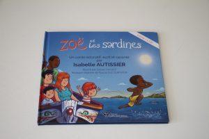 zoe et les sardines , éditions 2 pies tant mieux lecture