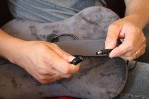 naipo coussin massage shiatsu fonction chauffante MGP-129M
