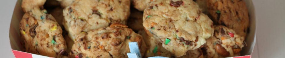 cookies M&M's recette colorée