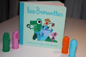 les brossettes : the brushies soulager poussée dentaire , apprentissage brossage des dents