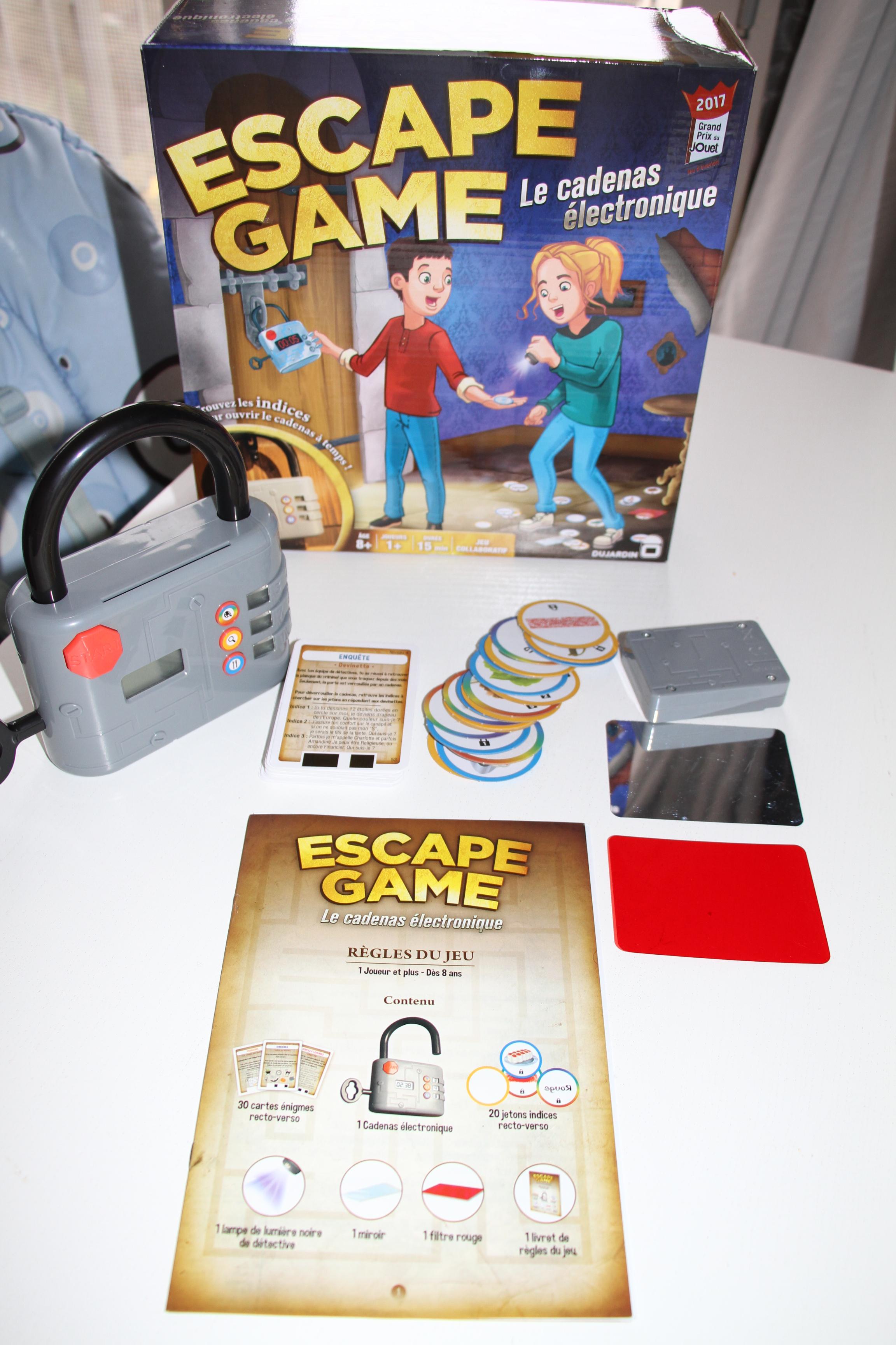 un escape game chez soi c 39 est possible avec dujardin maman jusqu 39 au bout des ongles. Black Bedroom Furniture Sets. Home Design Ideas