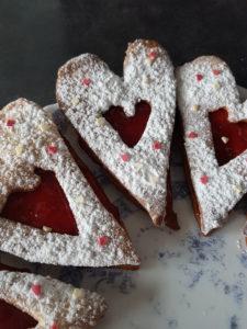 coeur sablé saint valentin
