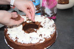 mon gâteau de Pâques surprise