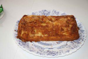recette facile de gâteau magique aux pommes carmélisées