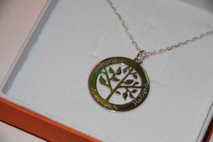 bijou personnalisé original fête des mère merci maman