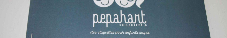 pepahart étiquettes personnalisées