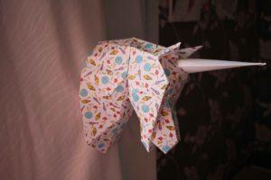 agent paper trophée petite licorne