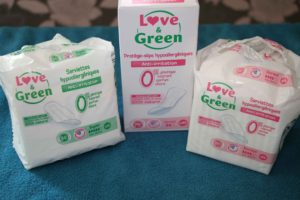 love and green protection hygiénique femme saine