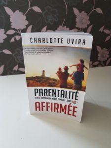 parentalité affirmée positive livre charlotte uvira