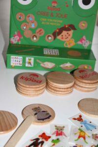 kipod jeu de memory en bois