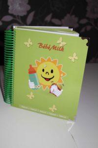 carnet de suivi bébé bébé milk