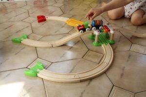 mon premier circuit dévouverte Brio train en bois