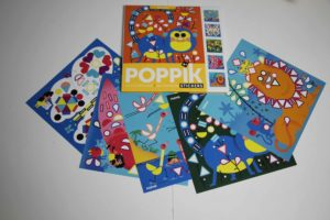 poppik cartes à stickers voyage