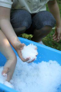 glibbi snoball bataille de boules de neige en été