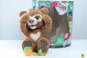 ours curieux cubby furreal hasbro