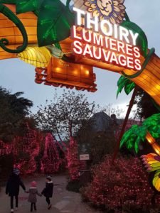 festival lumières sauvages thoiry