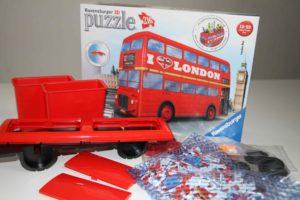 puzzles 3d ravensburger bus london