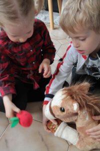 kisco cheval lumineux et musical gipsy