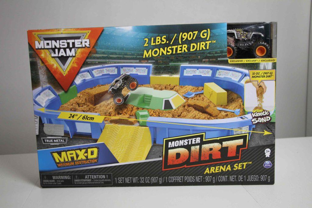 Monster dirt Monster Jam Spin master
