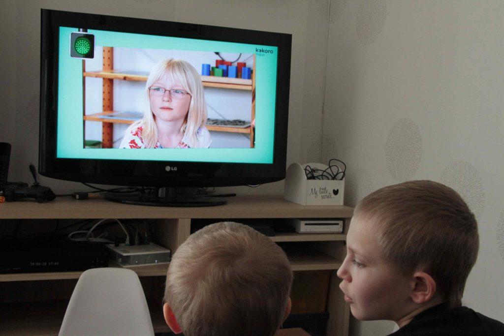 kokora lingua apprentissage anglais enfant
