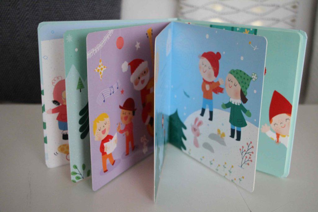 Livre sonore Noël mes plus belles chorales larousse jeunesse