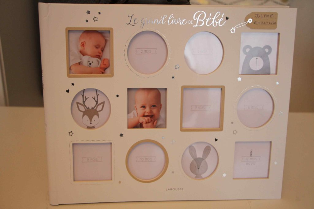 le grand livre de bébé larousse souvenirs