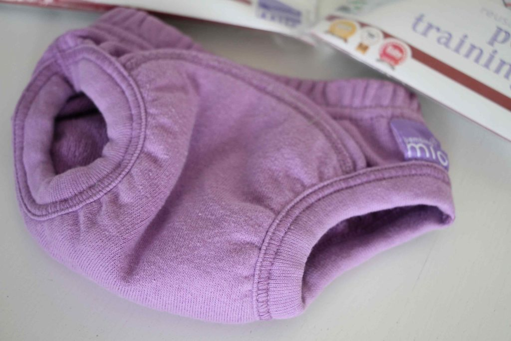 apprentissage propreté enfant culotte