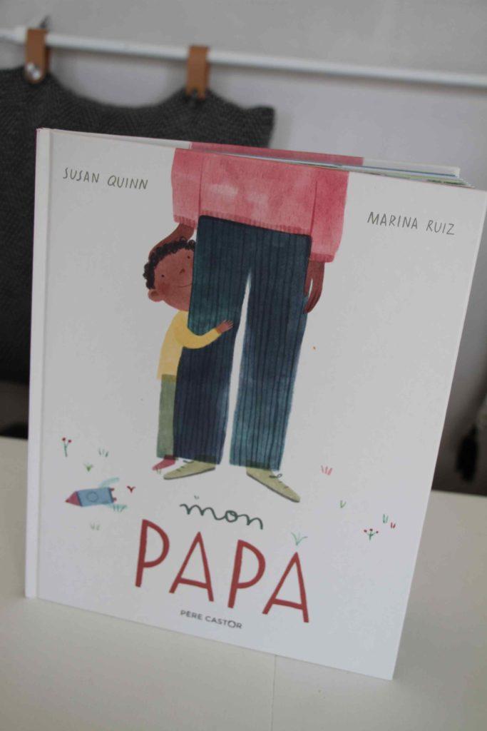 livre mon papa père castor