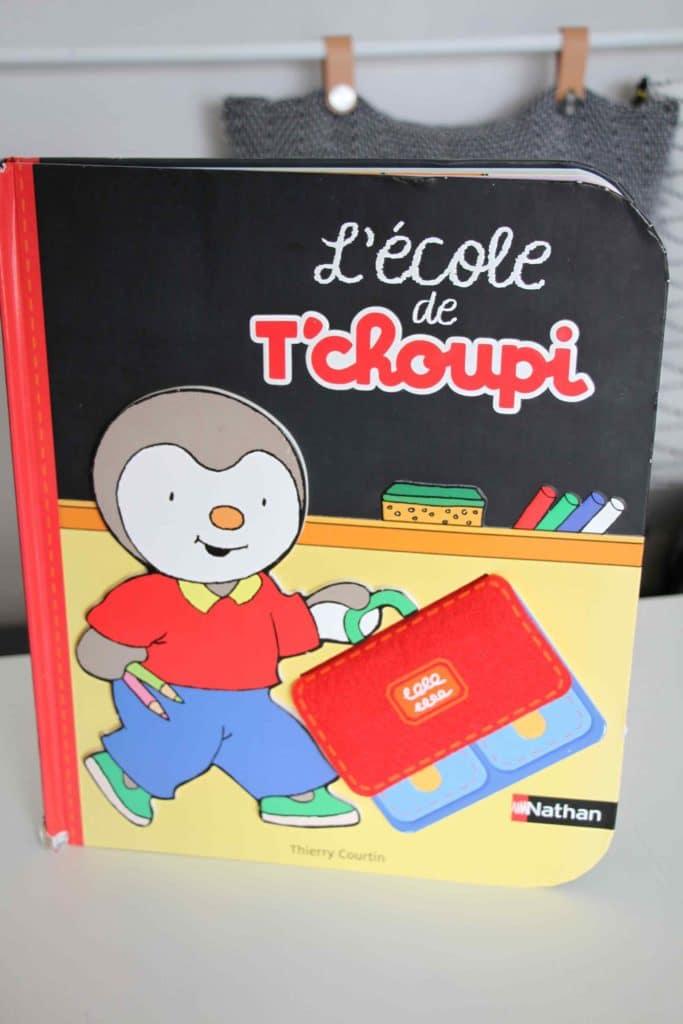 livre l'école de T'choupi nathan