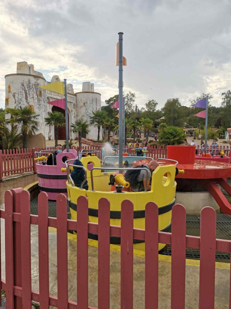 la mer de sable parc d'attractions