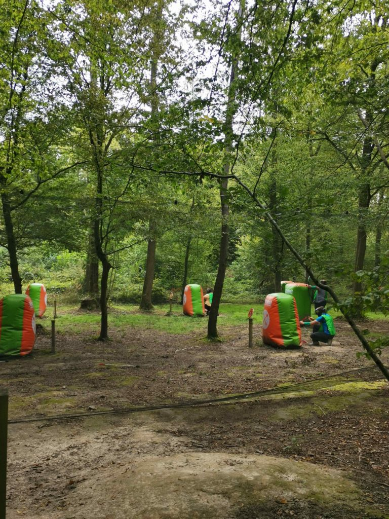Nolimit aventure chevry cossigny parc de loisirs battle archery