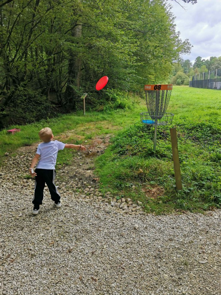 Nolimit aventure chevry cossigny parc de loisirs disc golf