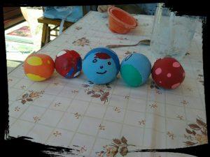Balles anti-stress maison