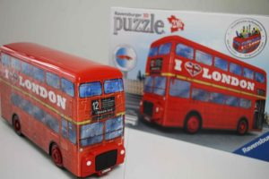 puzzles 3d ravensburger bus london