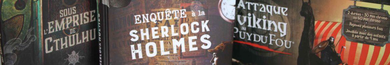 Escape book Logical Book Escape game famille Larousse