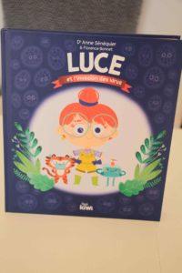 luce et l'invasion des virus : livre pour enfants